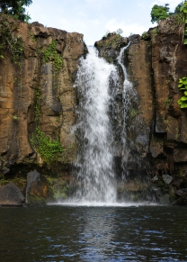 The Only In-Land Facing Waterfall